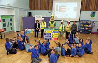Ivor at a school event