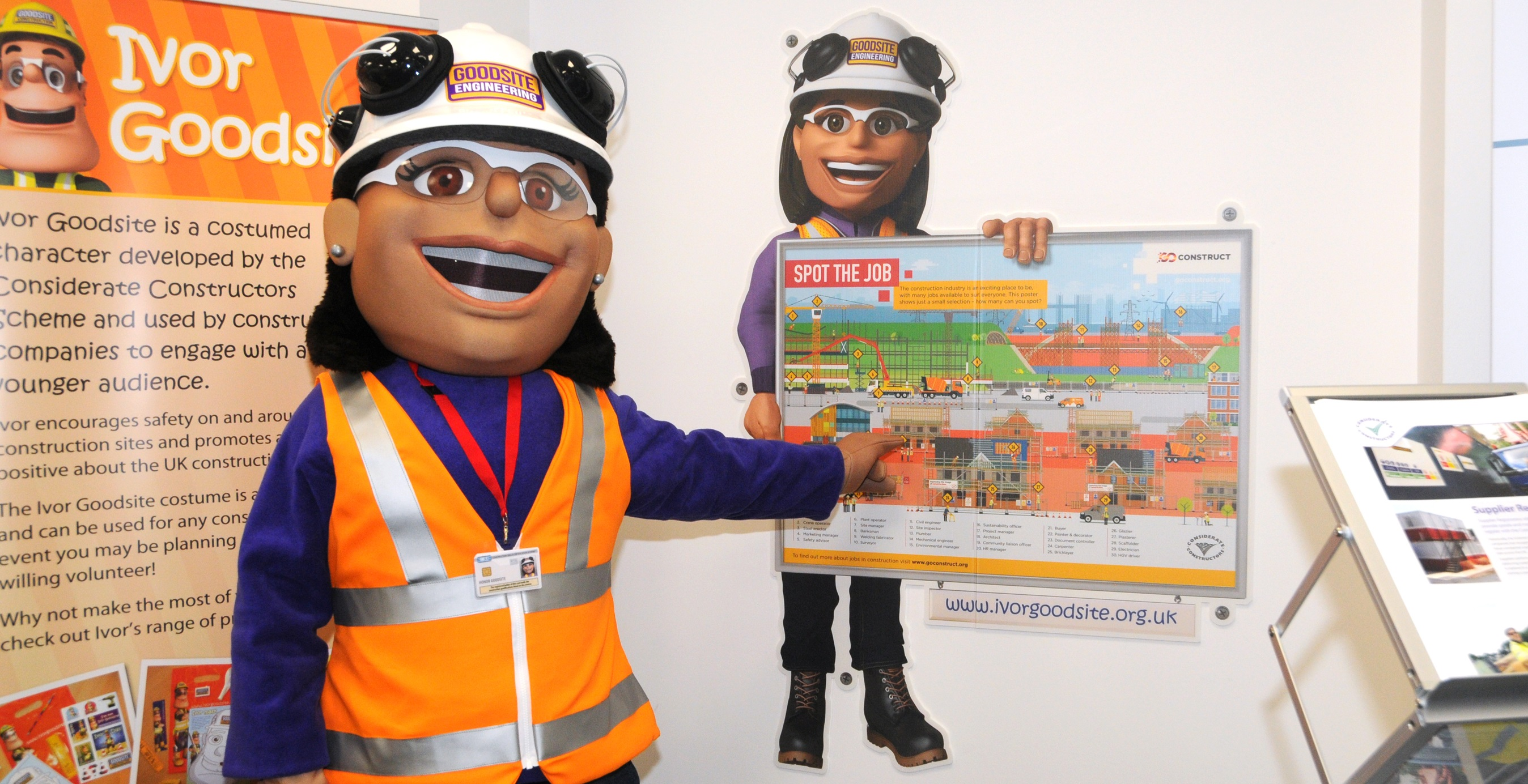spot the job sign launched to help young people identify careers the scheme joins forces the citb to encourage the next generation of workers to climb the rewarding career ladder of construction