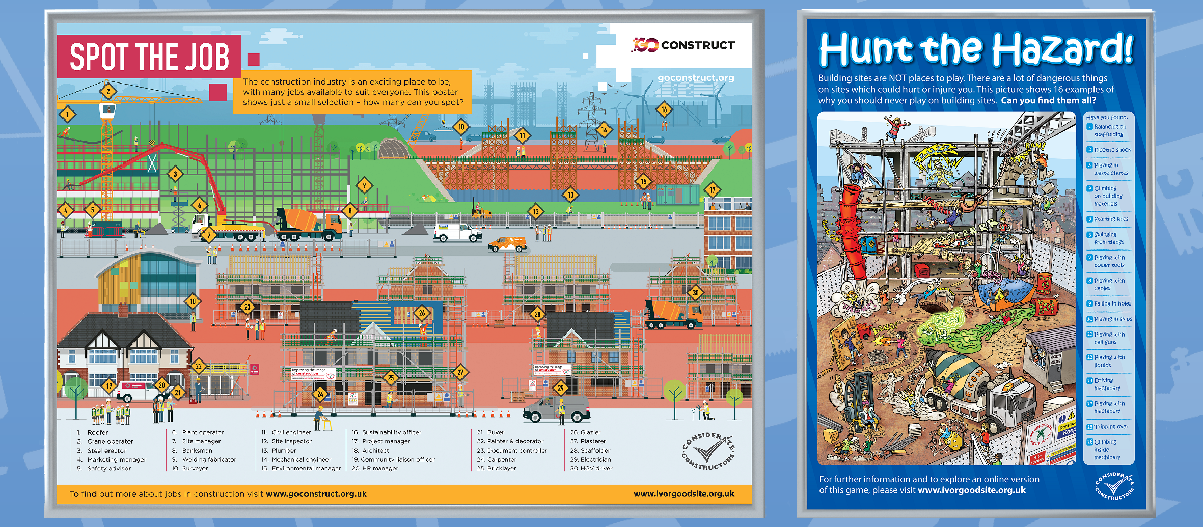 Poster design jobs uk - The Scheme Has Developed Two New A1 Posters Designed To Be Used As Educational Tools When Sites Visit Schools And Young People